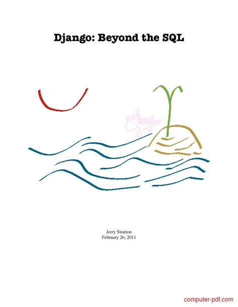 django tutorial download pdf pdf django beyond the sql free tutorial for beginners