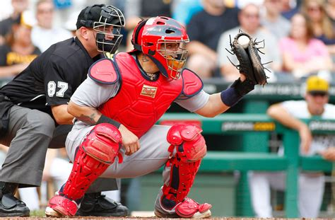Johnny Bench Baseball Player Catcher Yadier Molina 2013 National League Gold Glove