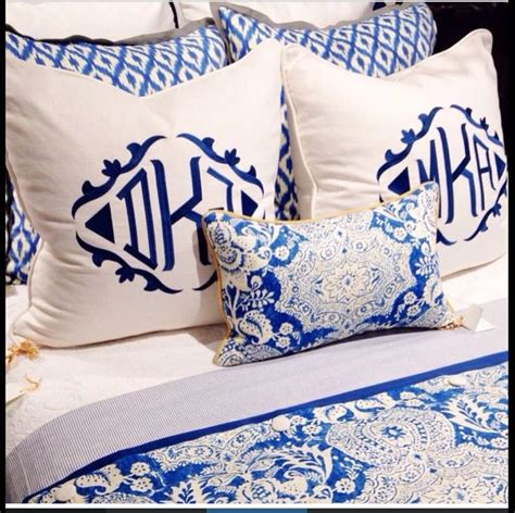 monogrammed bed pillows best 25 monogram pillows ideas on pinterest monogram