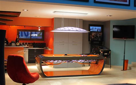 Blacklight Pool Table by The Blacklight Design Table Billard Toulet
