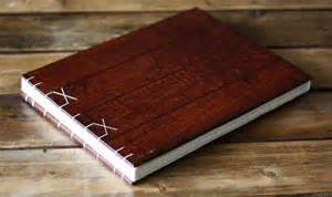 big photo albums large wood photo album by boarding school contemporary photo albums by etsy
