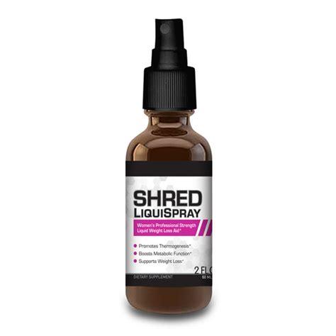 Shred Detox Reviews by Vitamiss Shred Liquispray Best Liquid Diet Supplement