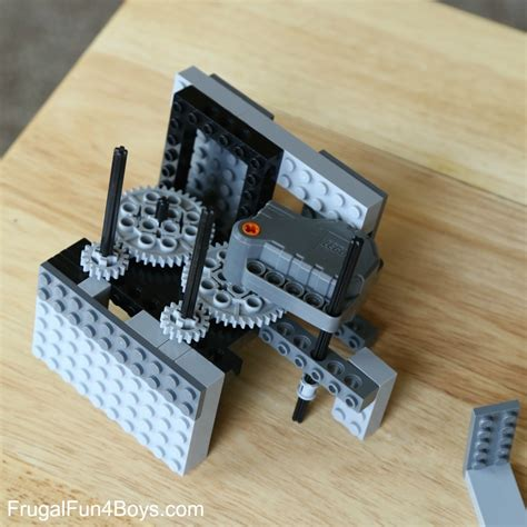 How To Make A Paper Lego - two ways to build a lego paper airplane launcher frugal