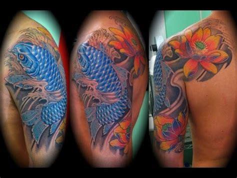 koi tattoo vicente lopez tatuajes de pez koi youtube