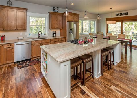 Floor Coverings Kitchen - acacia wood flooring reviews kitchen traditional with bell pendants breakfast bar