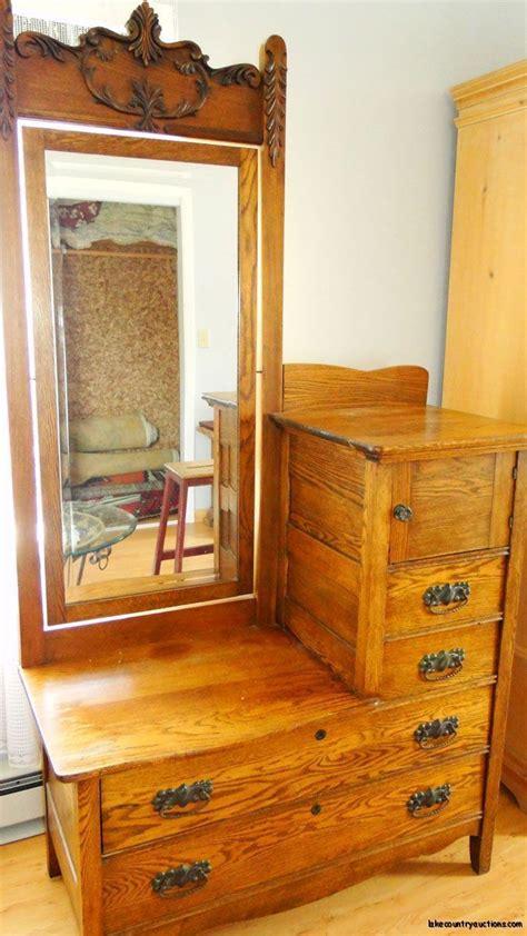 antique bedroom dresser antique carved vanity eastman bedroom dresser with mirror