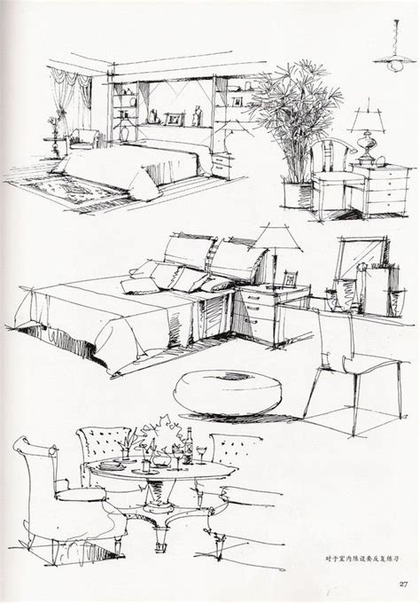 how to draw interior design interior sketch arch student