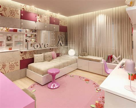 pink teenage bedroom ideas comfort pink girl bedroom by darkdowdevil interior