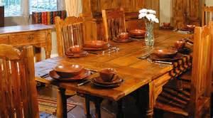 grande table de salle 224 manger rustique avec rallonges