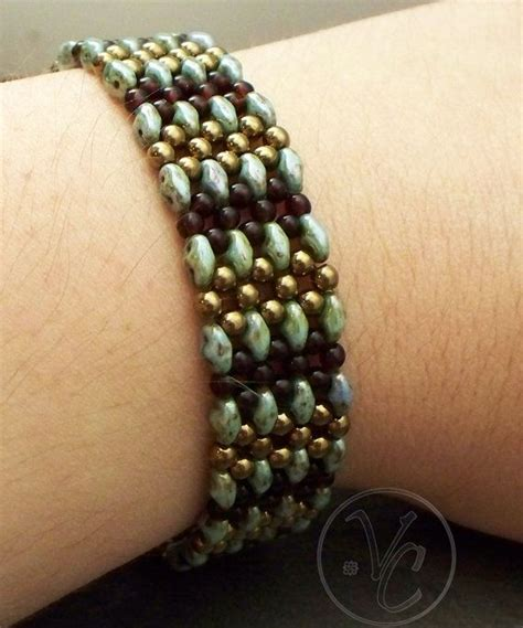 free patterns using superduo beads 17 best images about beading twin bracelet on