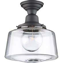 industrial filament bulb ceiling mount light fixture modern farmhouse style jefferson 6in