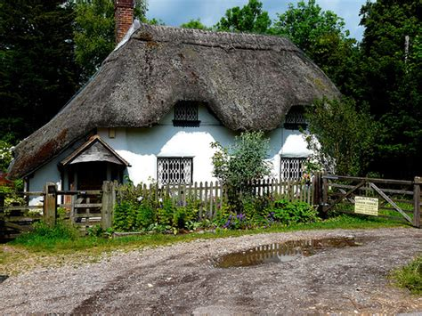 thatched cottage flickr photo