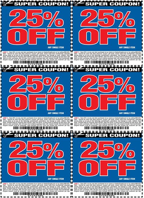 Bed Bath Beyond Black Friday Harbor Freight 25 Off Coupon Harborfreight Com