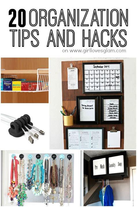 organize hacks 20 organization tips and hacks girl loves glam
