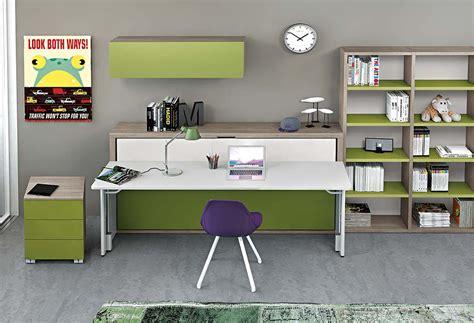 scrivania letto letto e scrivania a scomparsa miu clever it
