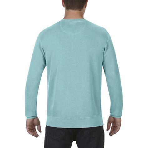 comfort colors chalky mint cc1566 comfort colors crewneck sweatshirt chalky