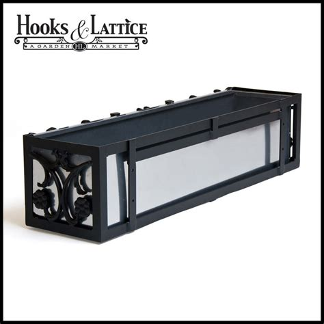 aluminium window boxes 36 quot quarter aluminum window box