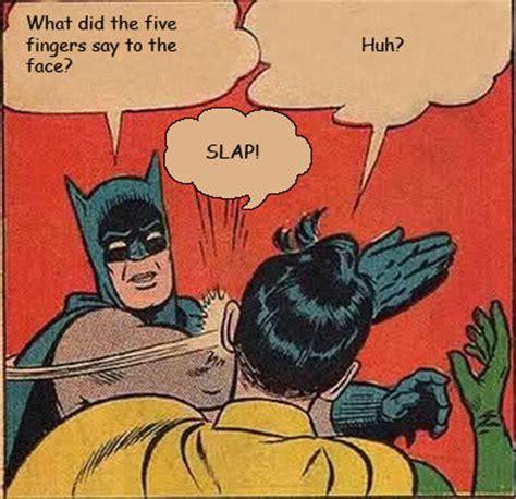 Batman Slapping Robin Meme Maker - image 245748 my parents are dead batman slapping