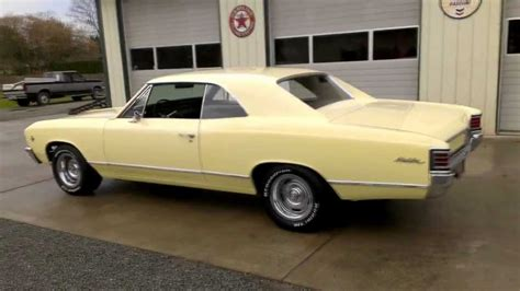 Yellow Barn 1967 Chevrolet Chevelle Malibu Youtube