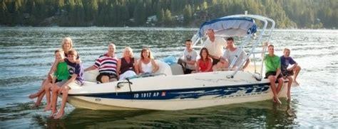 private boat rentals bass lake ski boat rentals lake coeur d alene