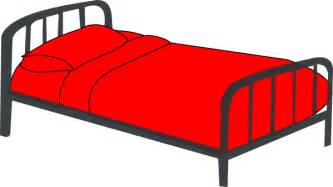 Red Bed Bed Clip Art