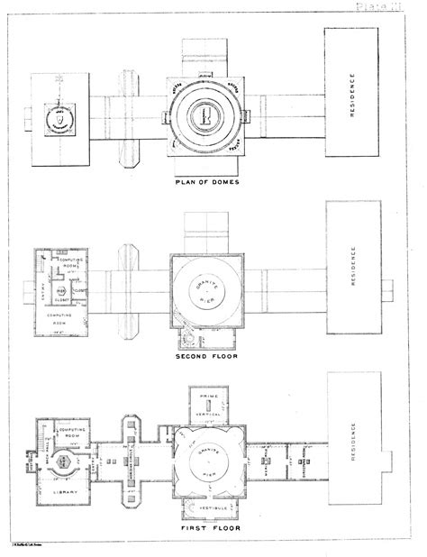 observatory floor plan harvard college observatory history in images