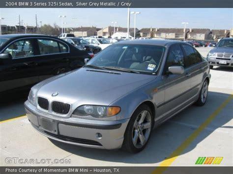 2004 bmw 325i interior silver grey metallic 2004 bmw 3 series 325i sedan grey