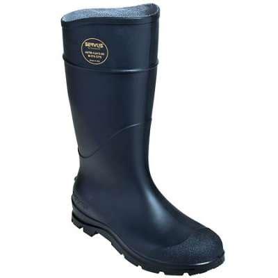 servus rubber boots servus boots waterproof 14 inch steel toe knee boots 18821