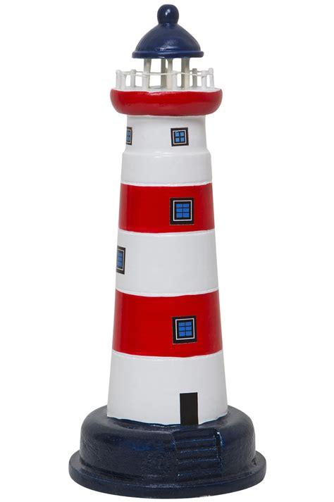 kerzenhalter leuchtturm leuchtturm modell rot wei 223 deko klassiker leuchtturm