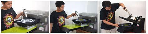 Sablon Kaos Dtg A3 Tinta Putih printer dtg printer dtg jakarta