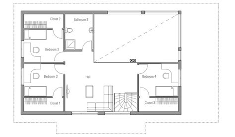 Home Design Floor Plans Small House Ch35 2f 189m 5b Modern House Plan House Plan