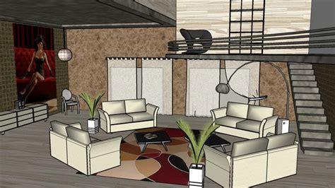 sketchup components  warehouse living room sketchup