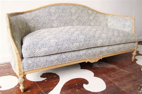 vintage couches for cheap how to recover a antique sofa home everydayentropy com