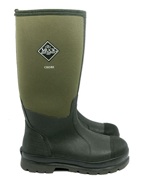 muck boots muck boot chore hi moss 163 90 garden4less uk shop