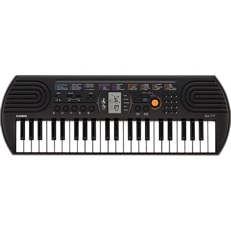 Casio Keyboard Mini Sa 77 casio sa 77 mini keyboard musician s friend