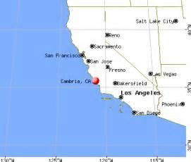 cambria california ca 93428 profile population maps