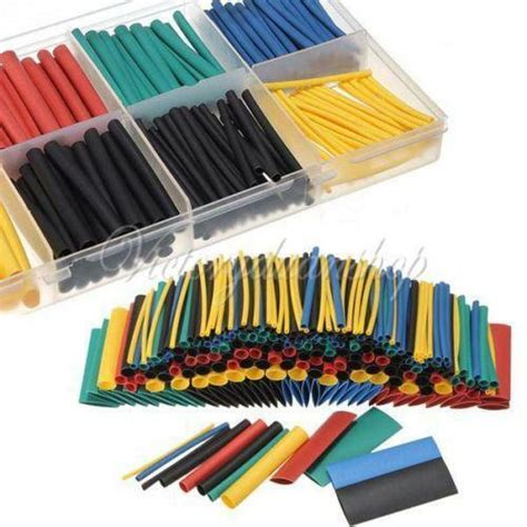 colored heat shrink tubing colored heat shrink tubing ebay