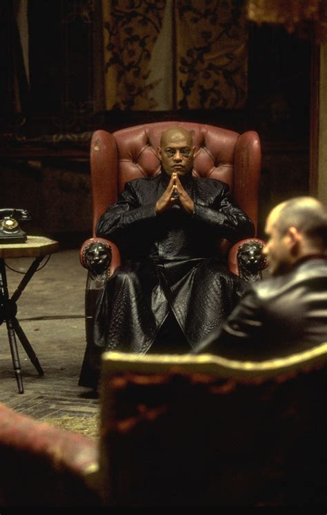 Morpheus Chair Matrix by Laurence Fishburne Matrix