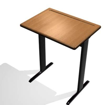 student classroom desks 3d classroom student desk