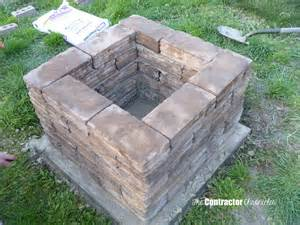 a backyard pit build a backyard pit the contractor chronicles