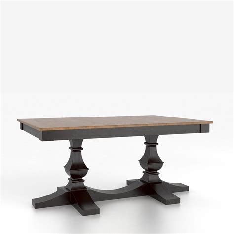 Canadel Dining Tables Canadel Custom Dining Tables Customizable Rectangular Table With Pedestal Darvin Furniture