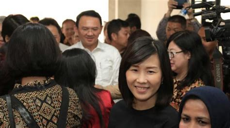 ahok wife viral ahok s touching tribute to his wife veronica tan on