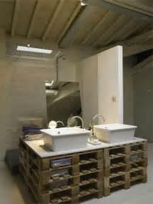 pallet furniture interior design a modern loft where reclaimed pallets were cleverly