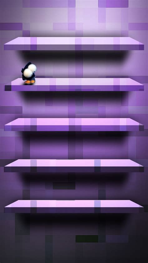 violet shelf iphone wallpaper hd