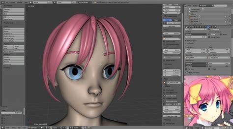 download hair blender modeling cartoon style hair in blender cgmeetup