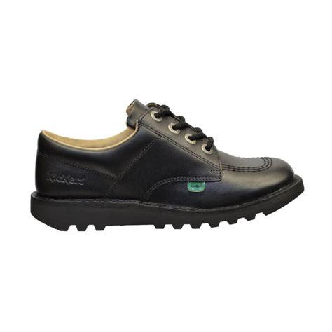 kickers shoes kickers kickers kick lo y leather black gd1