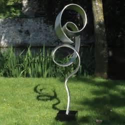 modern garden sculpture large infinite metal garden sculpture contemporary art statue s s shop