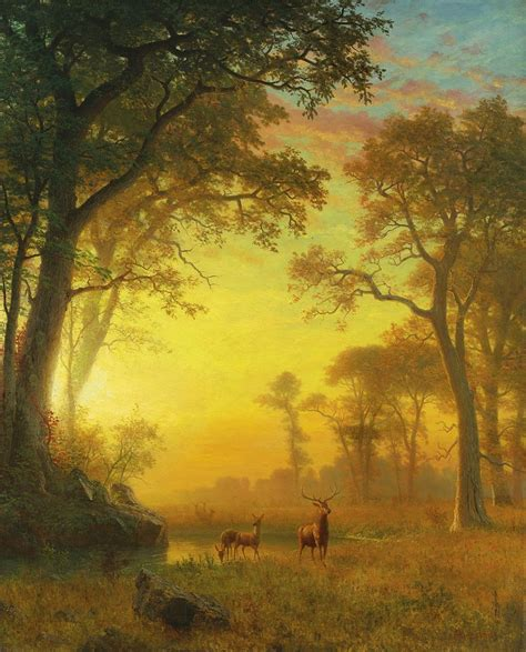 The Light In The Forest by File Albert Bierstadt Light In The Forest Jpg