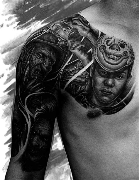 portrait tattoos for men 60 half sleeve tattoos for manly designs and