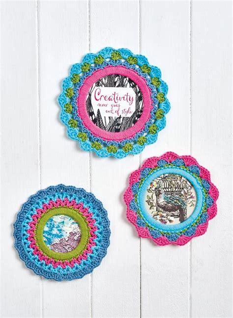 crochet frame pattern free picture frames crochet pattern